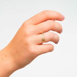 Joyería online alianza de boda Cielo puesta mujer