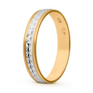 Joyería online alianza de boda Line Star