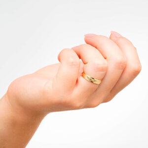 Alianza de boda barata - Lion