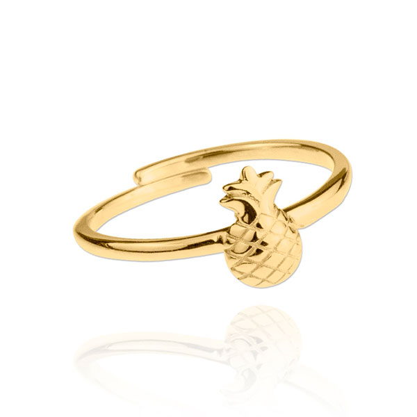 Anillo oro Pineaple