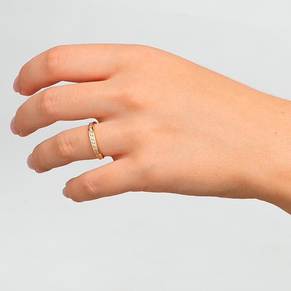 Anillo en oro de 18 kilates anillos de compromiso