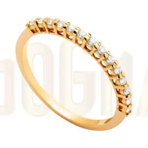 Anillo oro Electric Diamantes Dogma Design