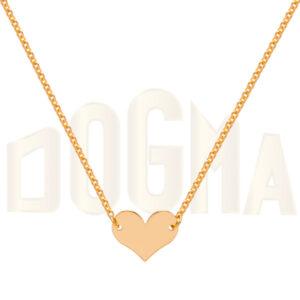 Gargantilla oro corazón Joyería Online