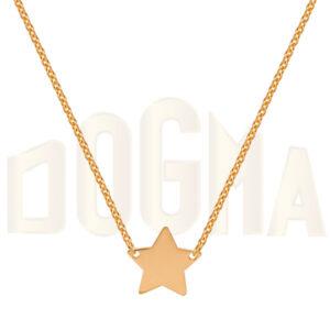 Gargantilla oro estrella, cadena de oro
