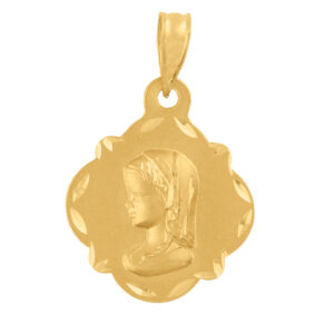 Medallas de oro Virgen niña