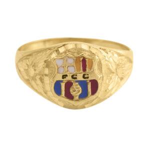 Sello de oro niño Barcelona