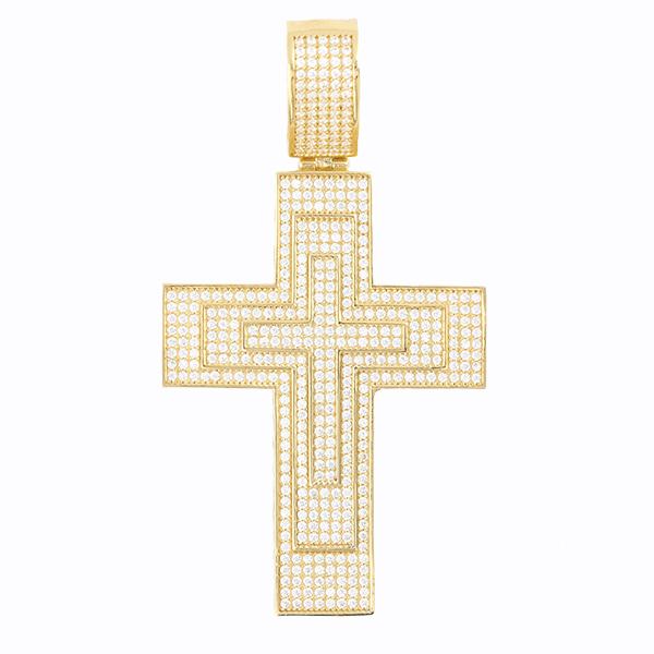 Colgante de oro Cruz
