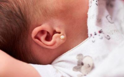 Los pendientes de oro para bebé, el regalo perfecto