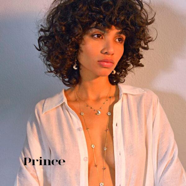 Gargantilla de plata Prince