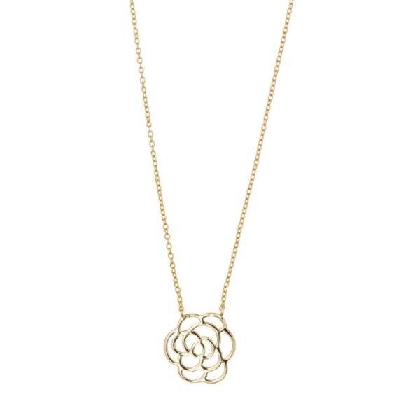 Gargantilla flor de loto