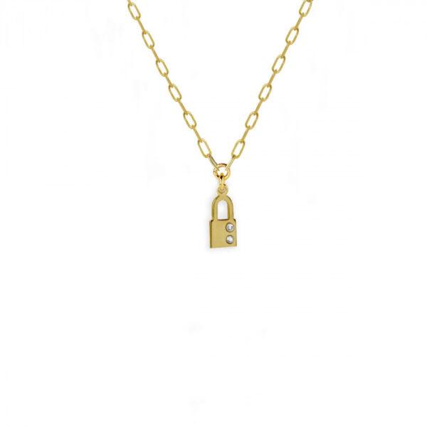 colgante-candado-crystal-oro