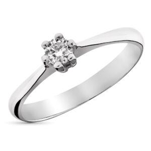 solitario diamante anillo pedida
