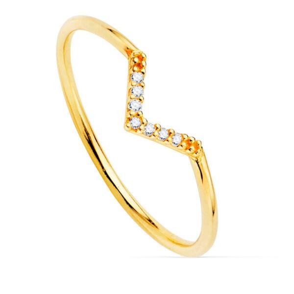 Anillo diamante Victory oro de 18 quilates