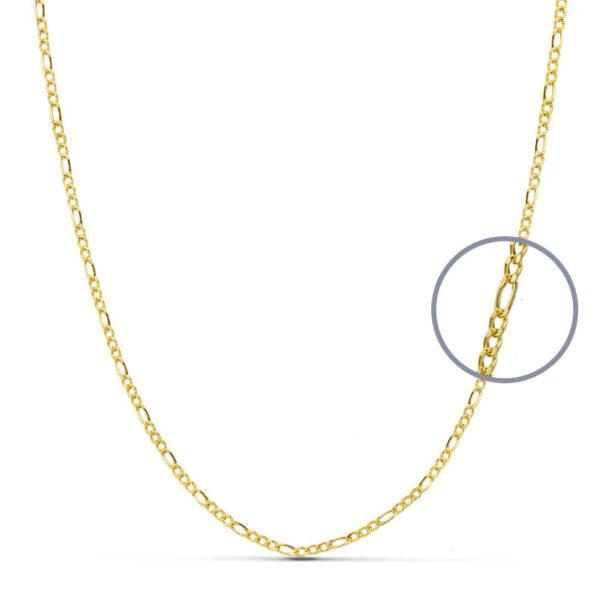 Cadena modelo Cartier oro