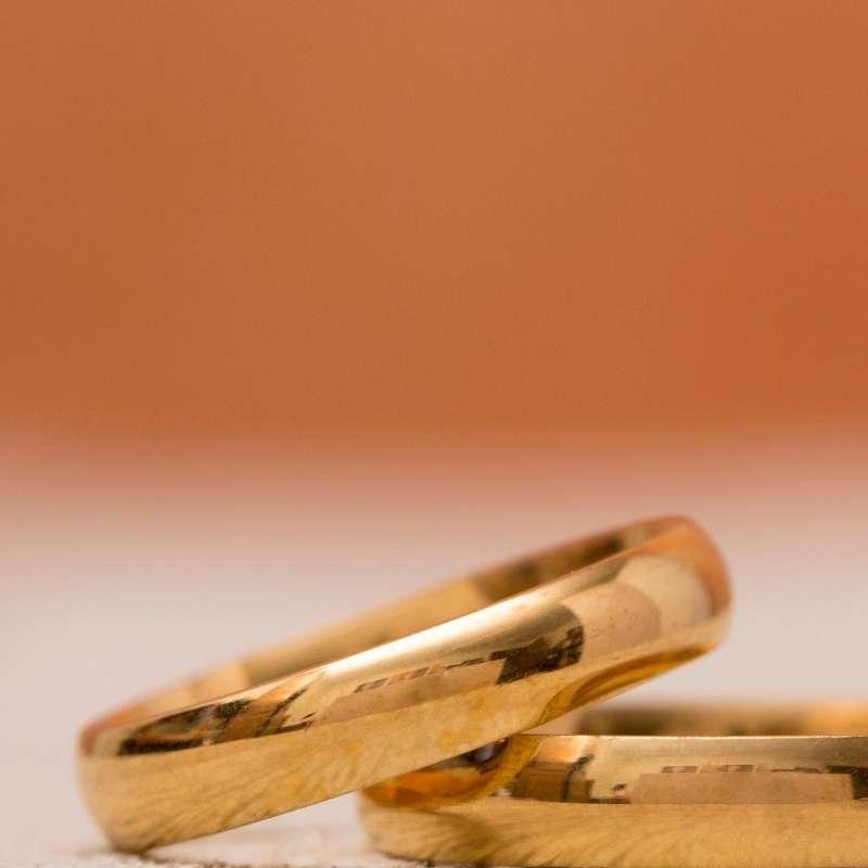 Alianzas de oro baratas