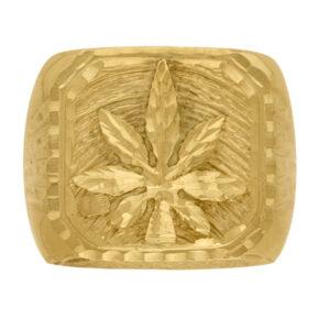 Sello de oro marihuana