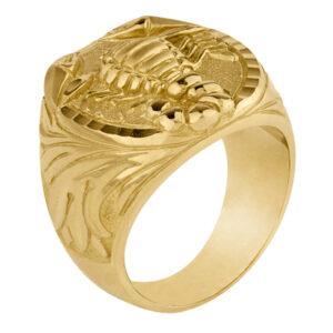 Sello de oro hombre