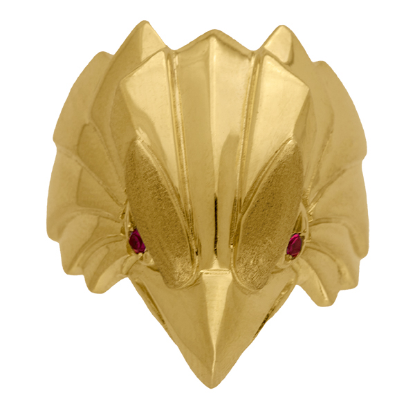 Sello de oro grande águila
