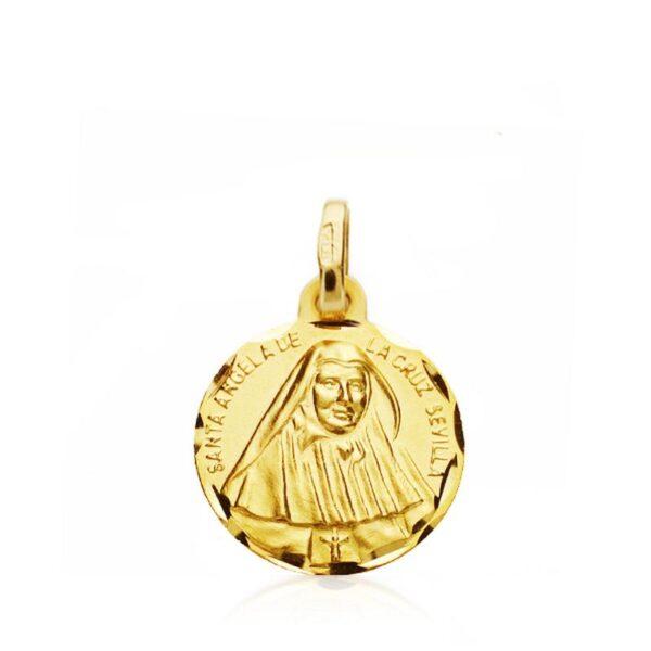 medalla santa Angela de la cruz