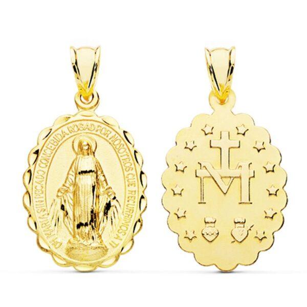 medallas virgen de la milagrosa