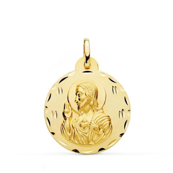 medalla sagrado corazón de jesus