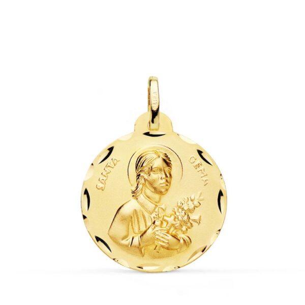 medalla Santa Gema