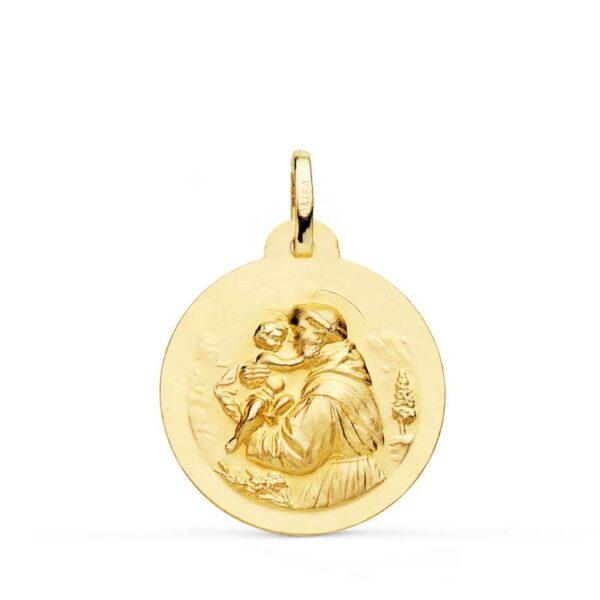 medalla San Antonio oro