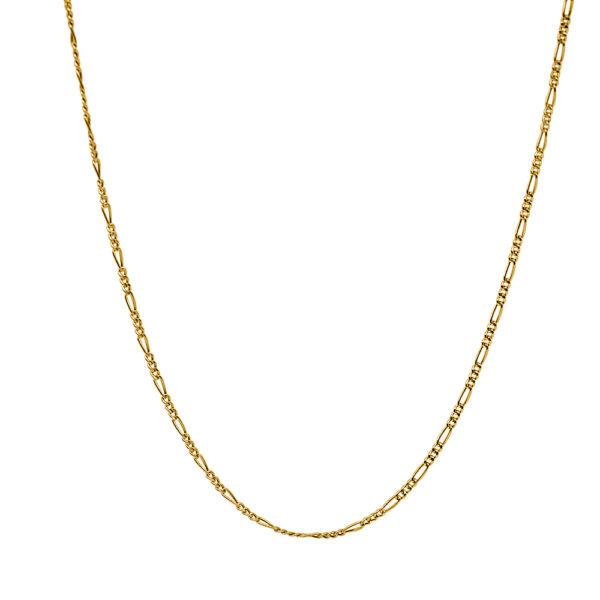 Cadena de oro tipo Cartier 40cm