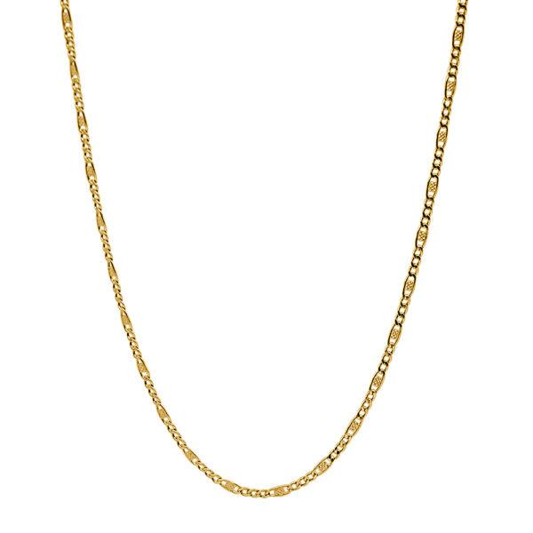 Cadena de oro tipo Cartier 45cm