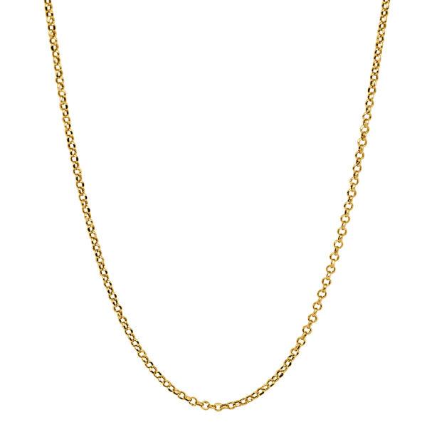 Cadena de oro rolos