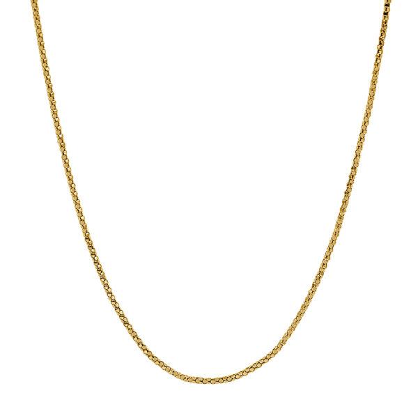 Cadena de oro piel de serpiente