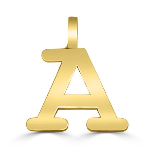 Colgante inicial oro Classic - A