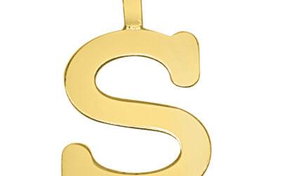 Encuentra el colgante inicial de oro perfecto para ti
