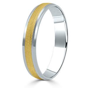 Alianza de boda oro