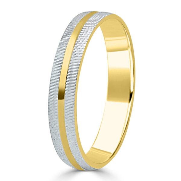 Alianza de boda oro amarillo
