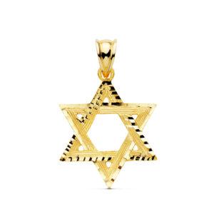 Estrella de David oro